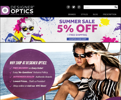designer optics Coupons