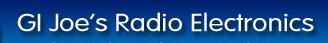 GI Joe's Radio Electronics Coupons