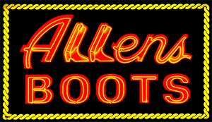 Allens Boots coupons