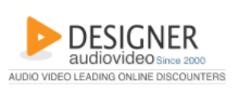 Designer Audio Video Coupons