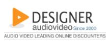 Designer Audio Video Coupons