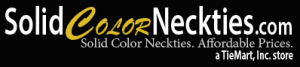 Solid Color Neckties Coupons